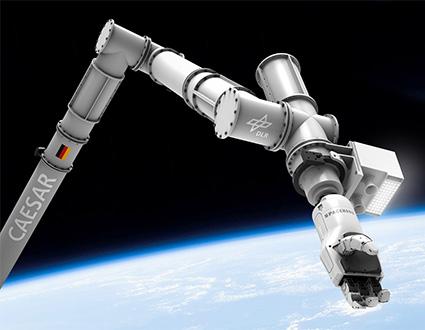 Kaydon Bearings - International Space Station - CAESAR robot arm bearings