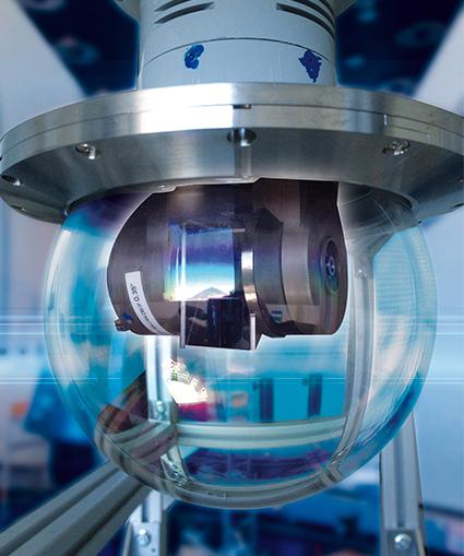 Kaydon Bearings - ViaLight laser communication terminal