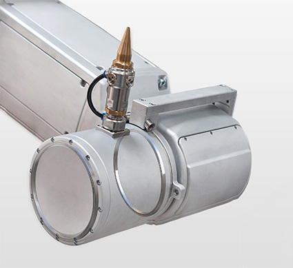 Kaydon Bearings - Robocut - head axis of laser robot
