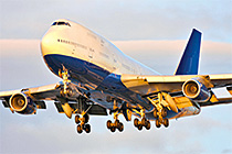 Kaydon Bearings - markets - commercial aerospace - commercial airplane