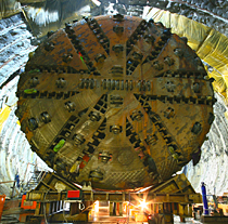 Kaydon Bearings - markets - heavy equipment - tunnel boring