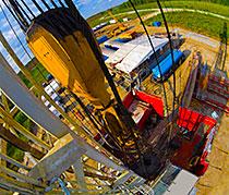 Kaydon Bearings - markets - oil & gas - rotating rig equipment