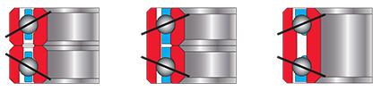 Kaydon Bearings for robotics: duplex pair bearings, super duplex bearigns, cartridge bearings