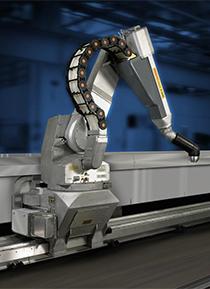 Kaydon Bearings - markets - robotics - paint robot
