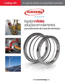 Kaydon Portuguese Catalog 390 slewing ring bearings